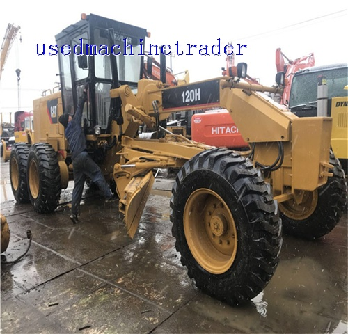 120H CAT GRADER WITH GOOD QUALITY