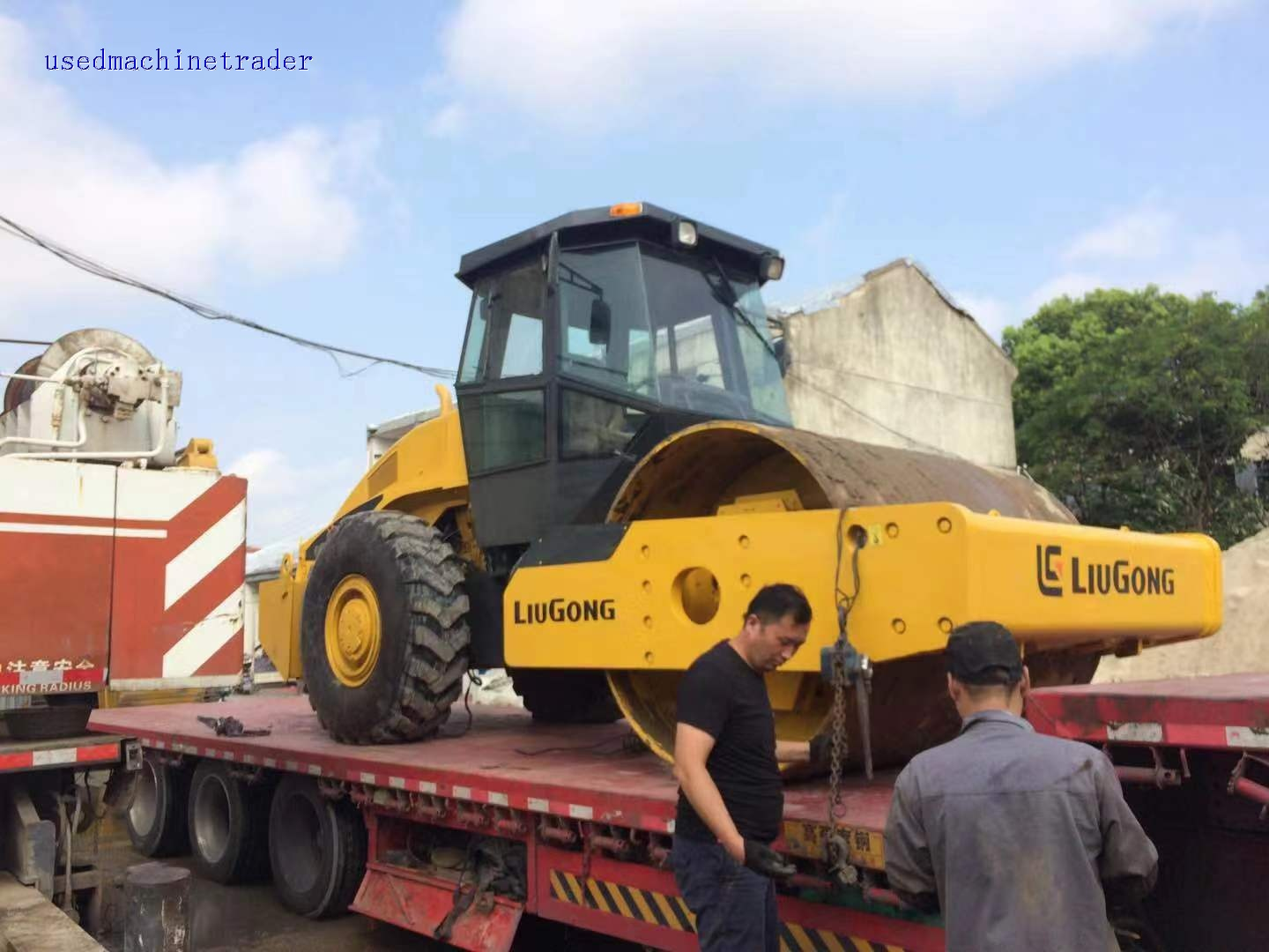 LIUGONG 20 tons road roller for sale