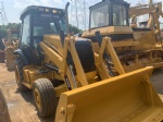 Used CAT 420F backhoe loader