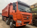 2019 HOWO 8X4 USED DUMP TRUCK FOR SALE