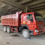 HOWO USED TIPPER TRUCK